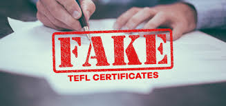 What is TEFL Authentication and how is this done?
