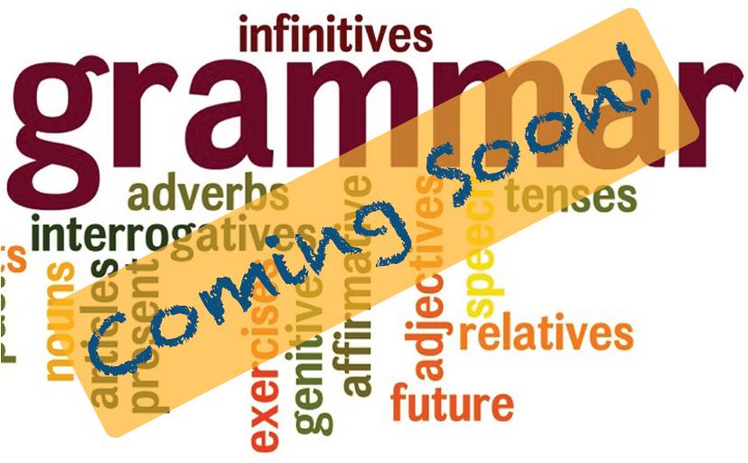 grammarcoming-soon